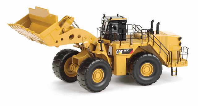Cargadora Caterpillar 993K, Norscot 55257 escala 1/50