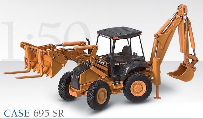 CASE 695SR Retroexcavadora Conrad 1/50