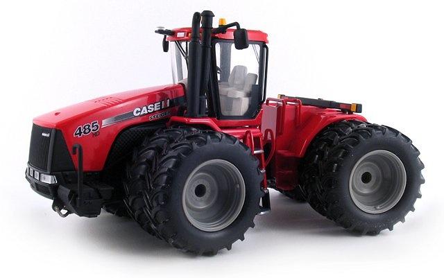 Case IH Steiger 485HD Dual-Wheeled Tractor, First Gear 1/50
