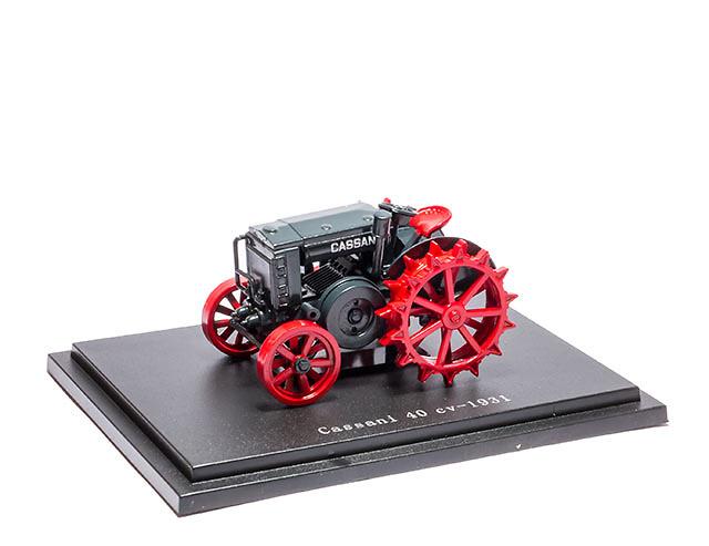 Cassani 40CV - 1931 - coleccion HACHETTE / Universal Hobbies escala 1/43