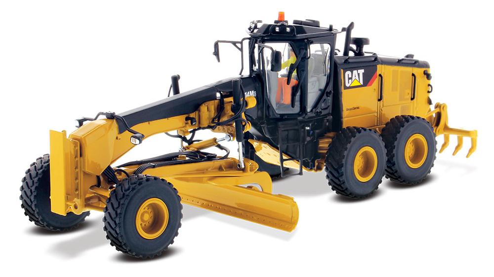 Cat 14M montoniveladora Diecast Masters 85545 escala 1/50