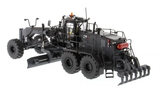 Cat 18M3 Motorniveladora Black Finish Diecast Masters 85522