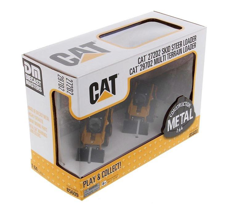 Cat 272D y 297D2 Diecast Masters 85609 escala 1/64