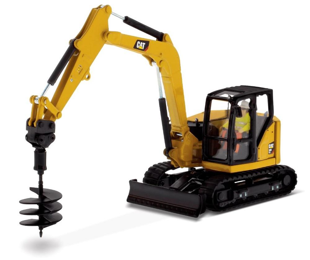 Cat 308 CR Mini excavadora Diecast Masters 85596 escala 1/50
