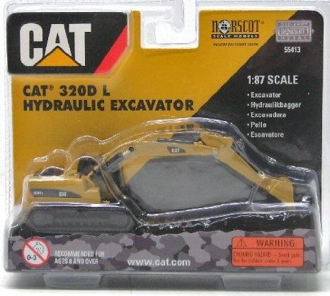 Cat 320D L excavadora cadenas Norscot 55413