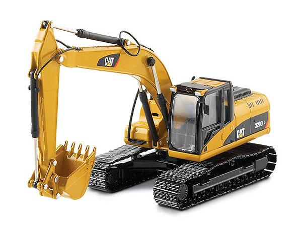 Excavadora Cat 320D norscot 55214