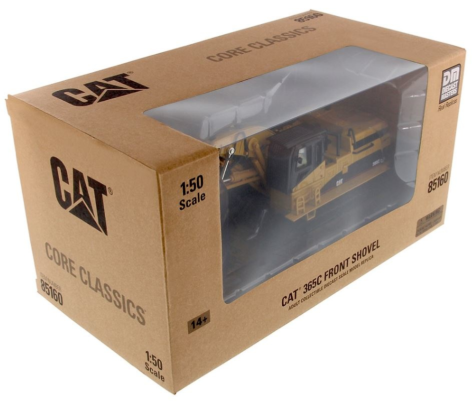 Cat 365C excavadora frontal Diecast Masters 85160 escala 1/50