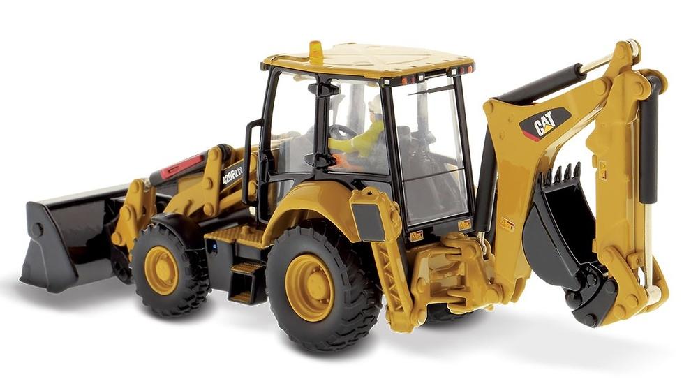 Cat 420F2 Retro excavadora - Diecast Masters 85233