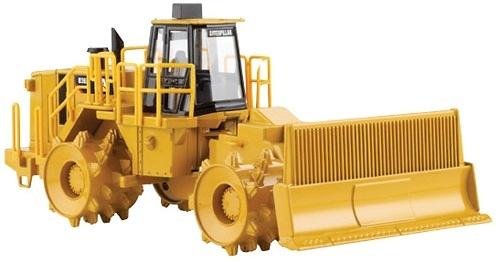 Cat 836H Compactadora de basura Norscot 55205 escala 1/50