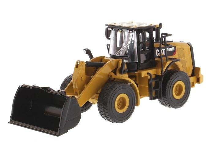 Miniatura Cat 950M cargadora Diecast Masters 85608 escala 1/64