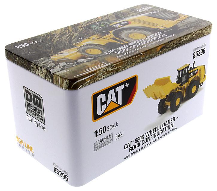 Cat 980K cargadora pierdras Diecast Masters 85296 escala 1/50