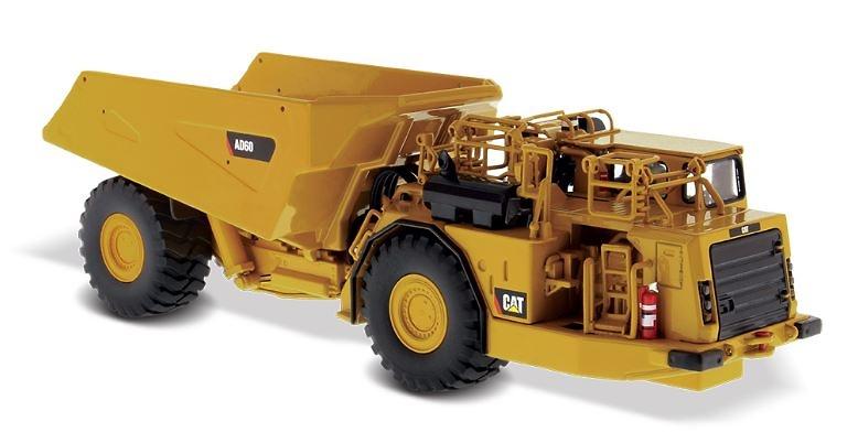 Cat AD60 Dumper túnel Diecast Masters 85516 escala 1/50