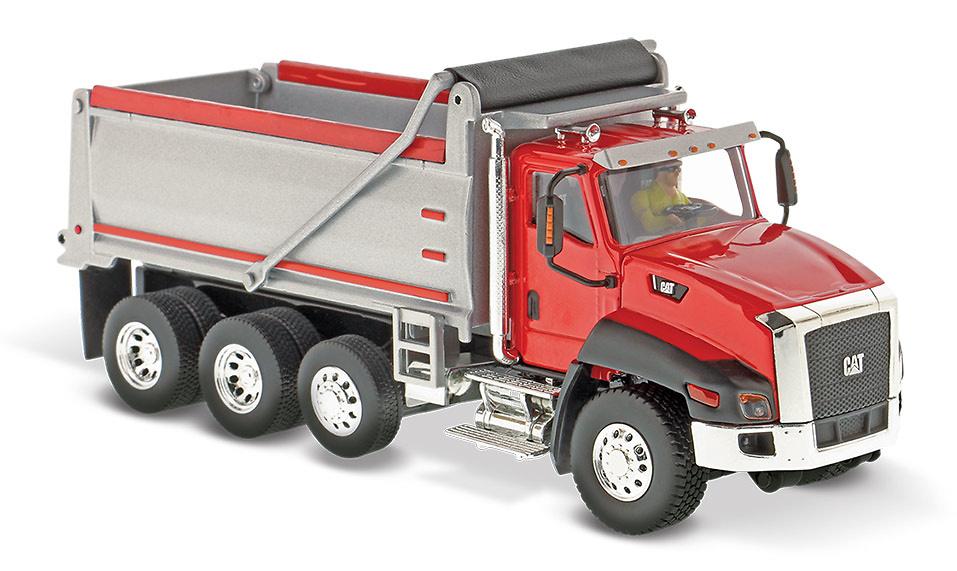 Cat CT660 Camion volquete Diecast Masters 85502 escala 1/50