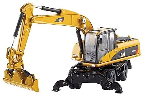 Cat M318 D Excavadora Ruedas Norscot 55177 escala 1:87
