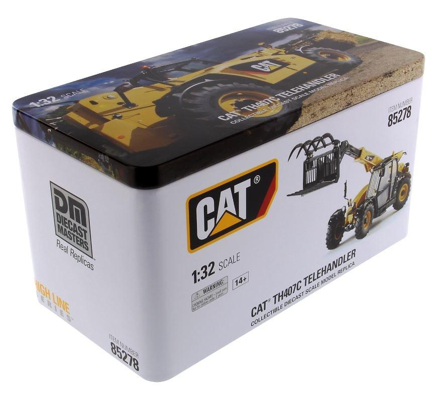 Cat TH407C elevadora Diecast Masters 85278 escala 1/32