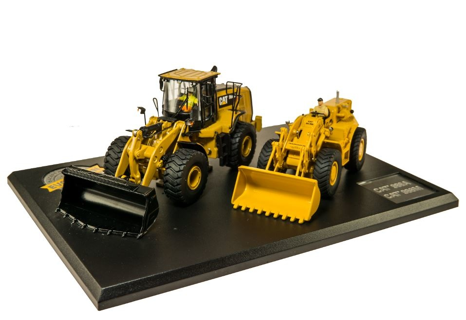 Cat evolution serie Cat 966A + Cat 966M Diecast Masters 85558