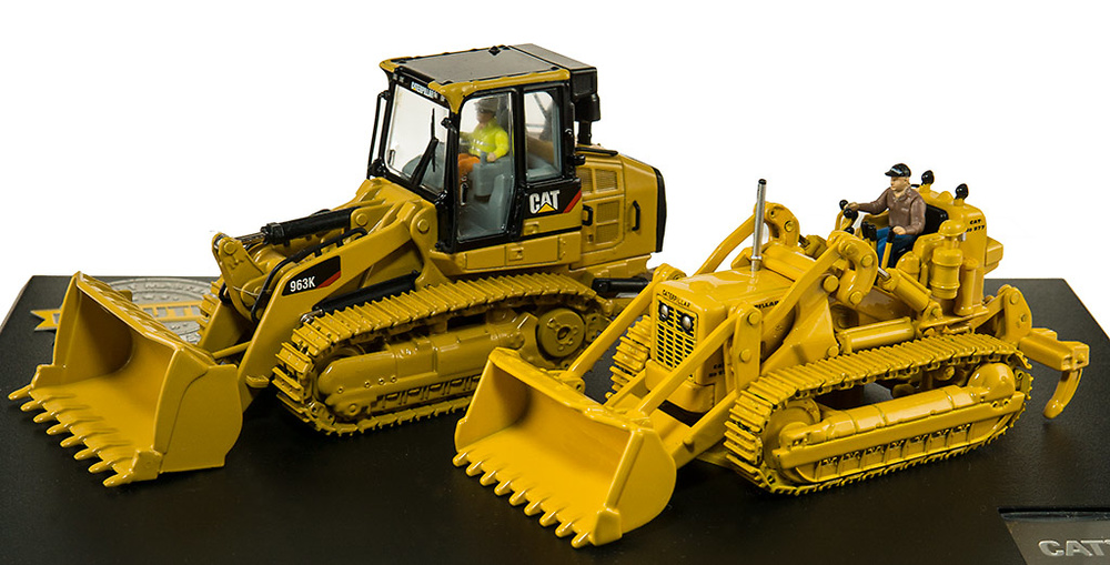 Cat evolution serie Cat 977D + Cat 963K Diecast Masters 85559
