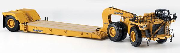 Caterpillar 784C w/Towhaul Trailer Norscot 55220 escala 1/50