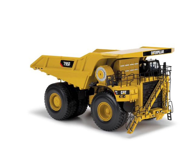 Caterpillar 795F AC Electric Drive Dumper, Norscot 55515 escala 1/50