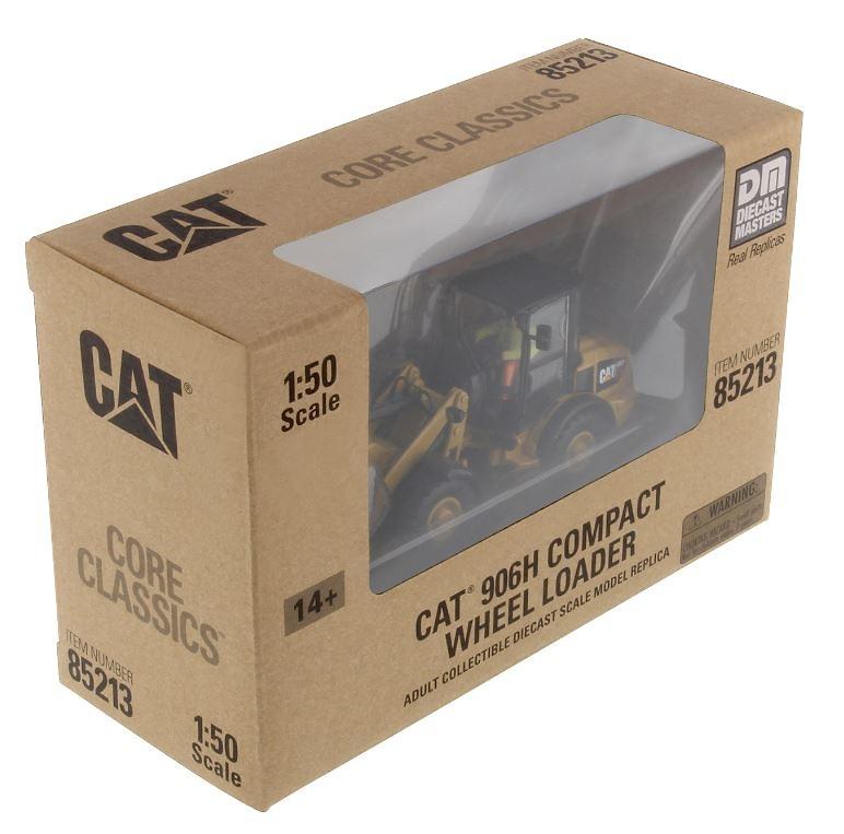 Caterpillar 906H Cargadora articulada Diecast Masters 85213