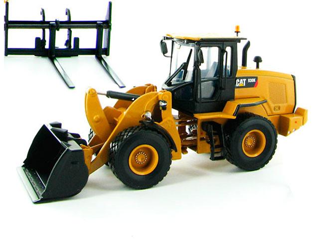 Caterpillar 930K cargadora ruedas con accesorios Norscot 55266 escala 1/50