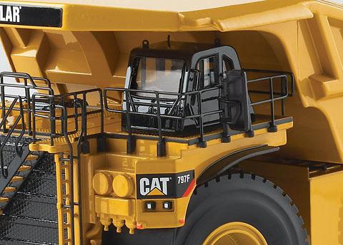 Caterpillar Camion Dumper Rigido CAT 797 F, Norscot 55206 escala 1/50