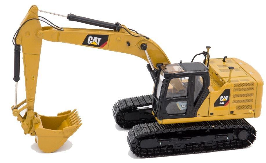 Caterpillar Cat 323 excavadora next generation Diecast Masters 85571