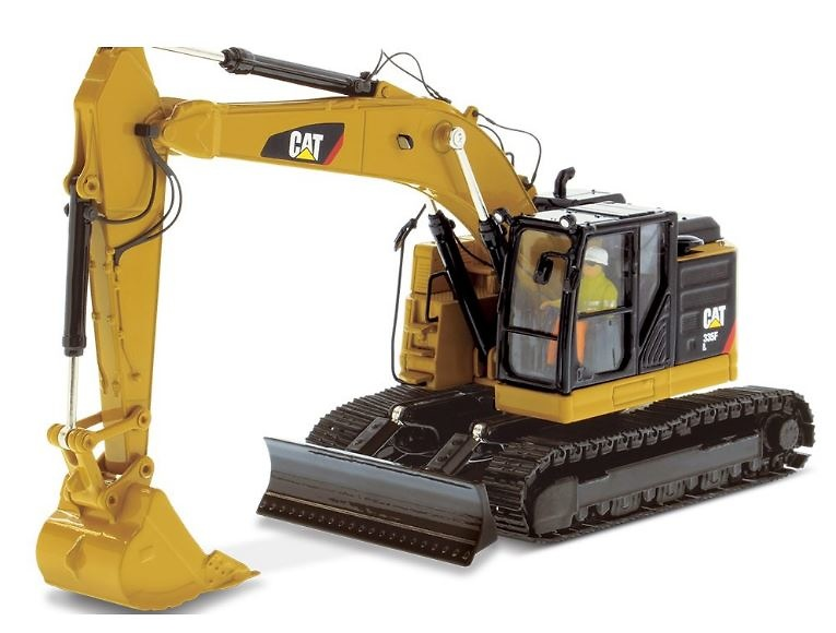 Caterpillar Cat 335F L CR Diecast Masters 85925 escala 1/50