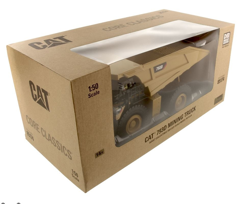 Caterpillar Cat 793D Diecast Masters 85174 escala 1/50