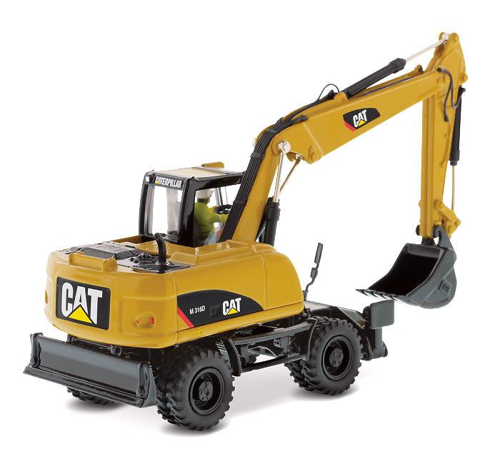 Caterpillar Cat M316 D Excavadora Diecast Masters 85171 escala 1/50