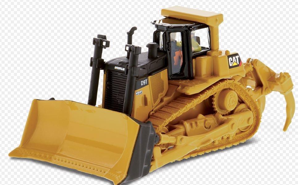 Caterpillar D9T Bulldozer Diecast Masters 85209 escala 1/87