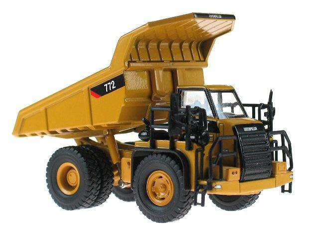Caterpillar Dumper Cat 772 Norscot 55261 Escala 1 87