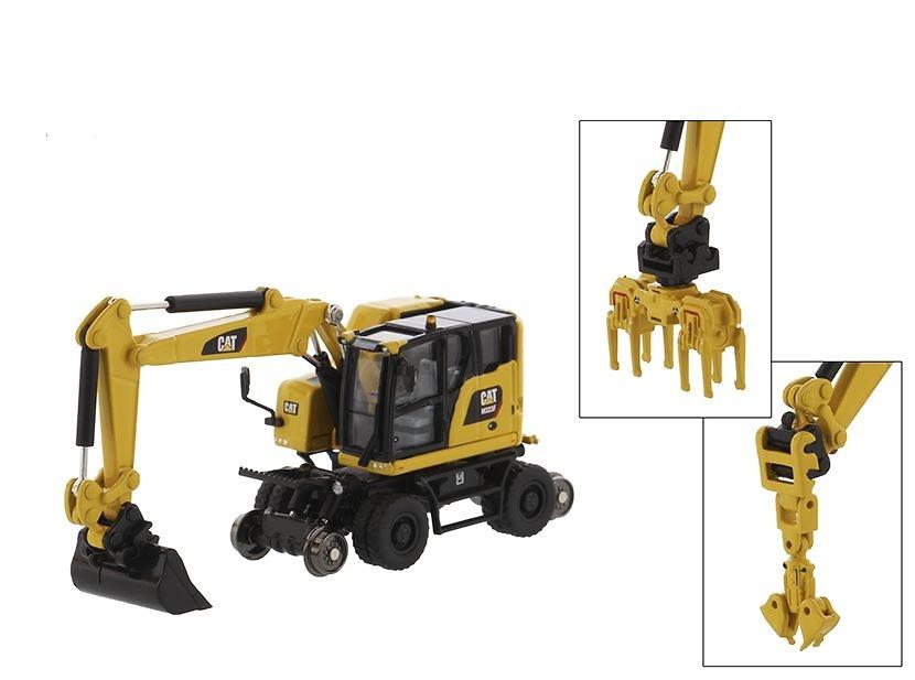 Caterpillar M323F Diecast Masters 85612 escala 1/87