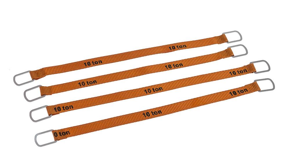 Cintas de levantar 10 ton / 4 ud - 10 cm Ycc Models 338-1