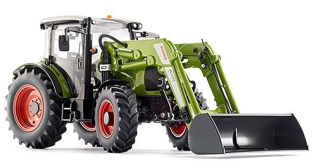 Claas Axion 430 con cargadora, Wiking 778229