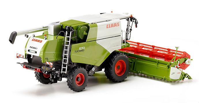 Claas Lexion 760TT cosechadora trigo Wiking 77824 escala 1/32