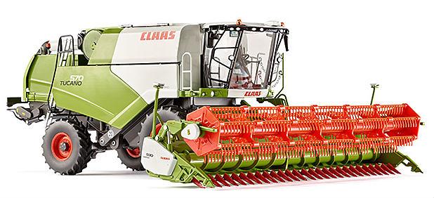 Claas Tucano 570 cosechadora trigo Wiking 77817 escala 1/32