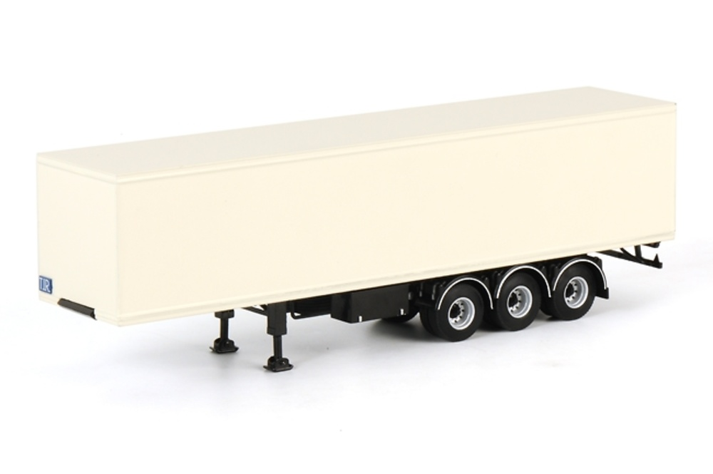 Classic Box Trailer, Wsi Models 17-0002 escala 1/50