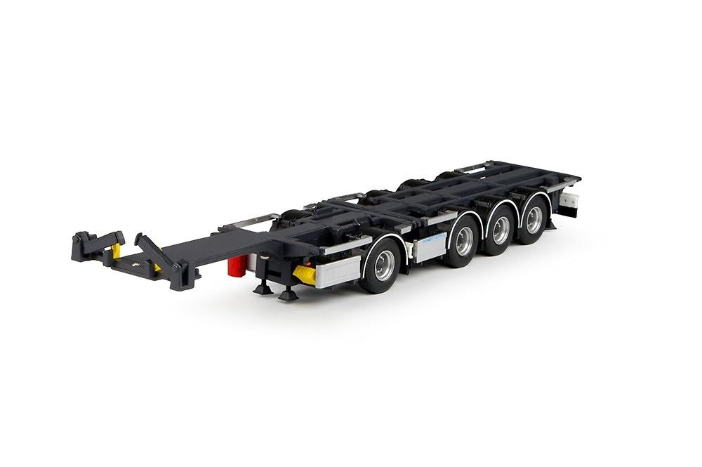 Combitrailer contenedores Tekno 65879 escala 1/50