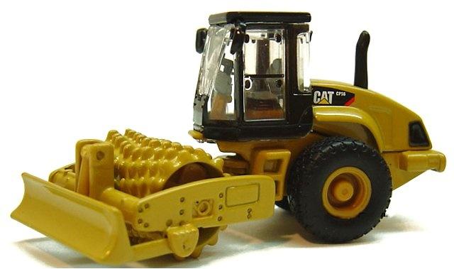 Compactador vibratorio dentado pata de cabra Caterpillar CS56, Norscot 1/87
