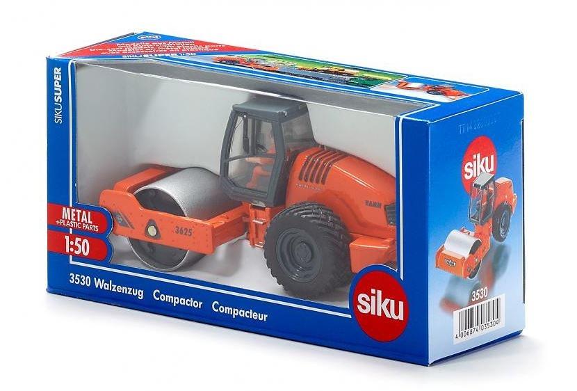 Compactadora Hamm Siku 3530 escala 1/50