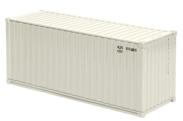 Contenedor maritimo 20 ft Nzg 875-13 escala 1/50