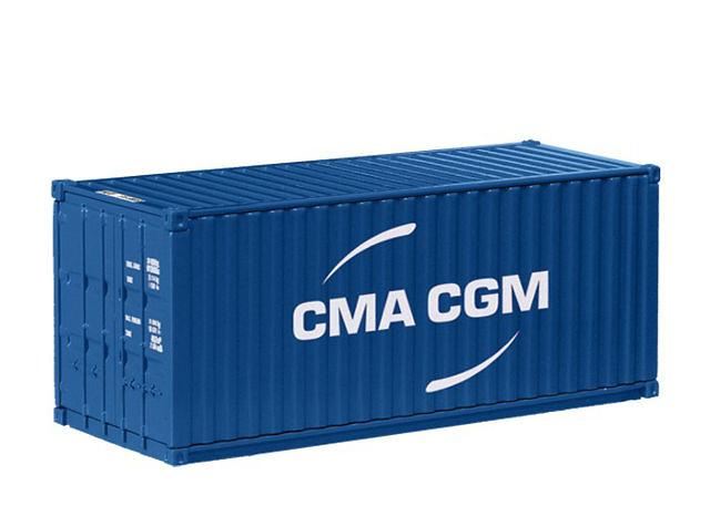 Contenedor maritimo cma cgn 20 ft nzg 875 02 escala 1 50 - Precio contenedor maritimo ...