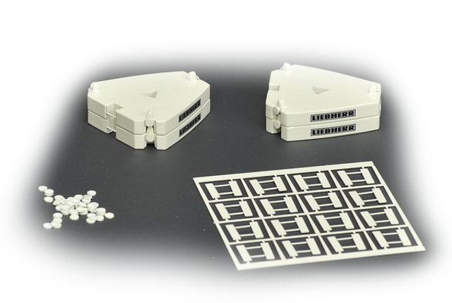 Contra pesos 5 ton para Liebherr LTM 11200 Roxu, Ycc Models 1/50