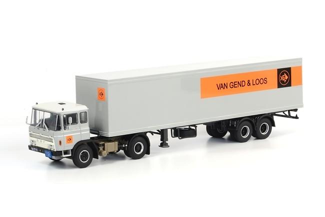 DAF 2600 Classic Box trailer Van Gend & Loos, Wsi Models 1/50 06-1012