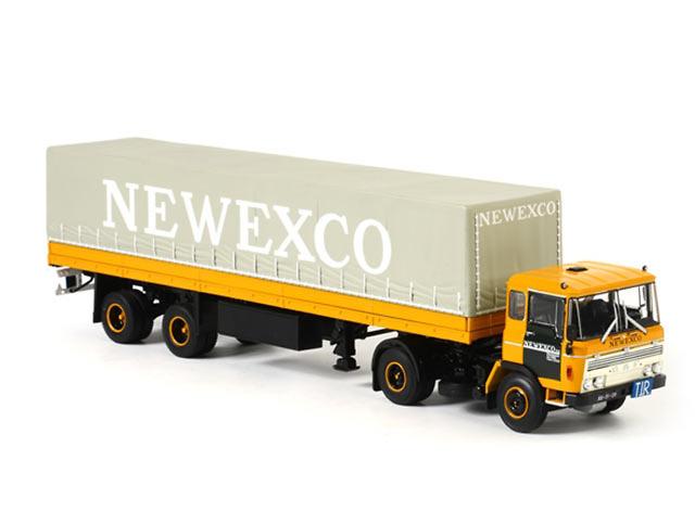 DAF 2600 tautliner Newexco Wsi Models 06-1048 escala 1/50