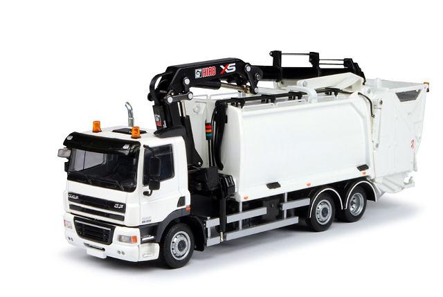 DAF CF 85 Camion basura con grua, Tekno 63367 escala 1/50