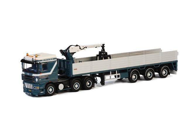 DAF XF 95 SC transporte de piedra Wsi Models 01-1467 escala 1/50