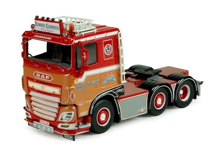 DAF XF Euro 6 Ronny Ceusters Tekno 71191 Masstab 1/50