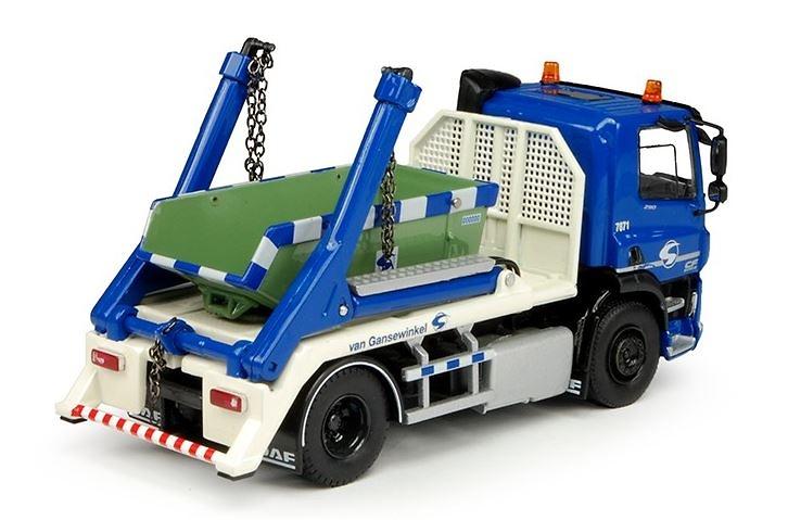 Daf CF LW porta contenedor Tekno 69403 escala 1/50